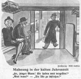 """""""Brummbär"""" - Ein Ausschnitt aus Beilage der Berliner Morgenpost 17 Dez. 1938. Zeichner: Willi Kastler"""