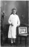 Maria HOFMANN- KASTLER Kommunion 1924