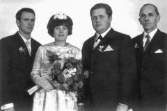 Karl u. Waltraud Hochzeit