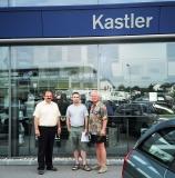 Familientreffen Grünbach 2003 - Franz, Curt, and Charles Kastler.