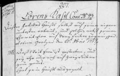 Lorenz Kastl 1757 Property Record