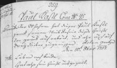 Mr. Kastl 1761 Property Record