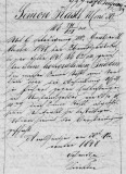 Simon Kastl 30 Nov 1848 Property Record