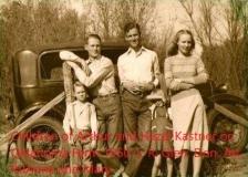 Children of Arthur Hazel Kastner on Okla Farm 1950