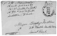 Gladys Kastler Postcard