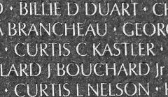 Curtis Charles Kastler (1948-1971) - Vietnam Memorial