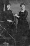 Eliza Taylor and Sister