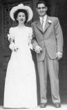 Bud & Donna Wedding - 1948