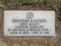 Grabstein Karl (Charles) Kastler