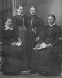 Christina Kastler (third from left)