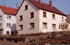 Erstes (First) Kastler Haus in Heuchlingen