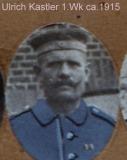 Ulrich Kastler 1. Weltkrieg ca. 1915