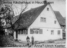Zweites (second) Kastler Haus in Heuchlingen.