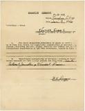 Eldon Kastler - WWII Quarantine Clearance