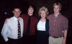 Ted, Dru, Judy, Devon