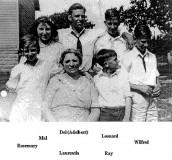 Laurentia Kaslter - Lambur with her 6 children