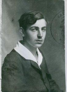 Alfred Kastler as a teen