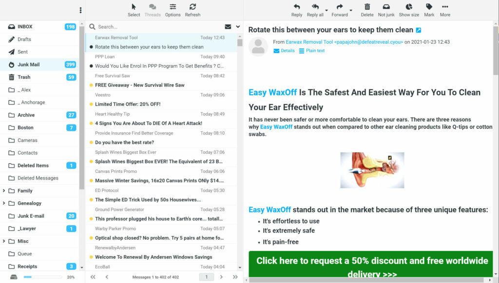 Kastler.net Email