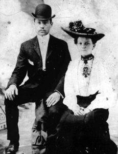 Jakob Kastler (*1851-1909) and Katherine Rathgeber (*1853-1882)